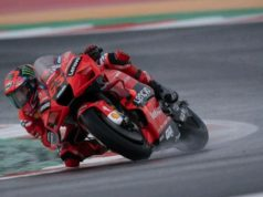 Francesco Bagnaia memenangi MotoGP San Marino 2021. F.Getty Images/Mirco Lazari gp